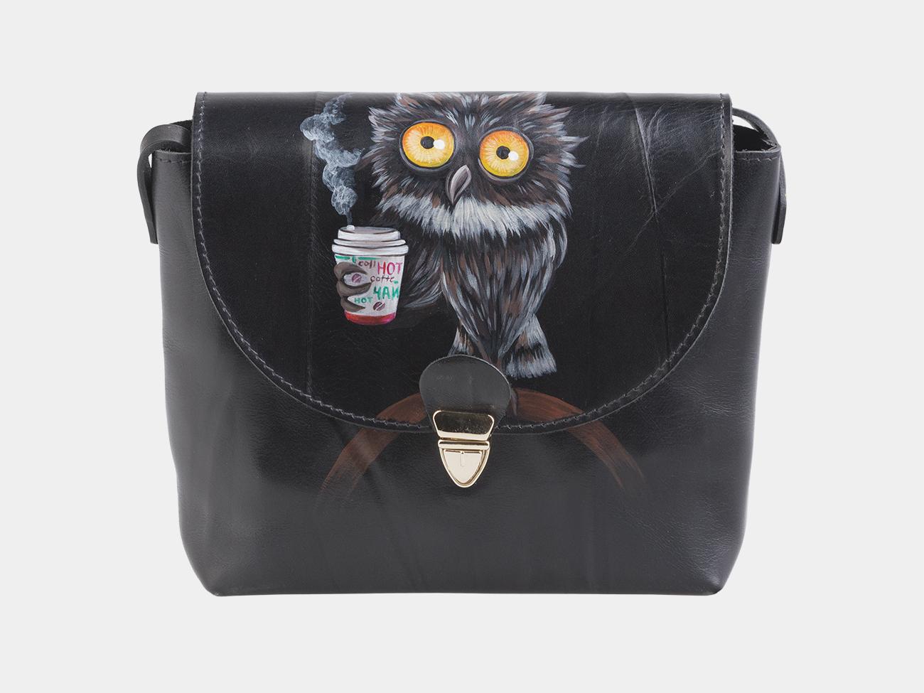 069d66b060ed Клатч Кубби «Утренняя сова» | Интернет-магазин кожаных сумок и ...