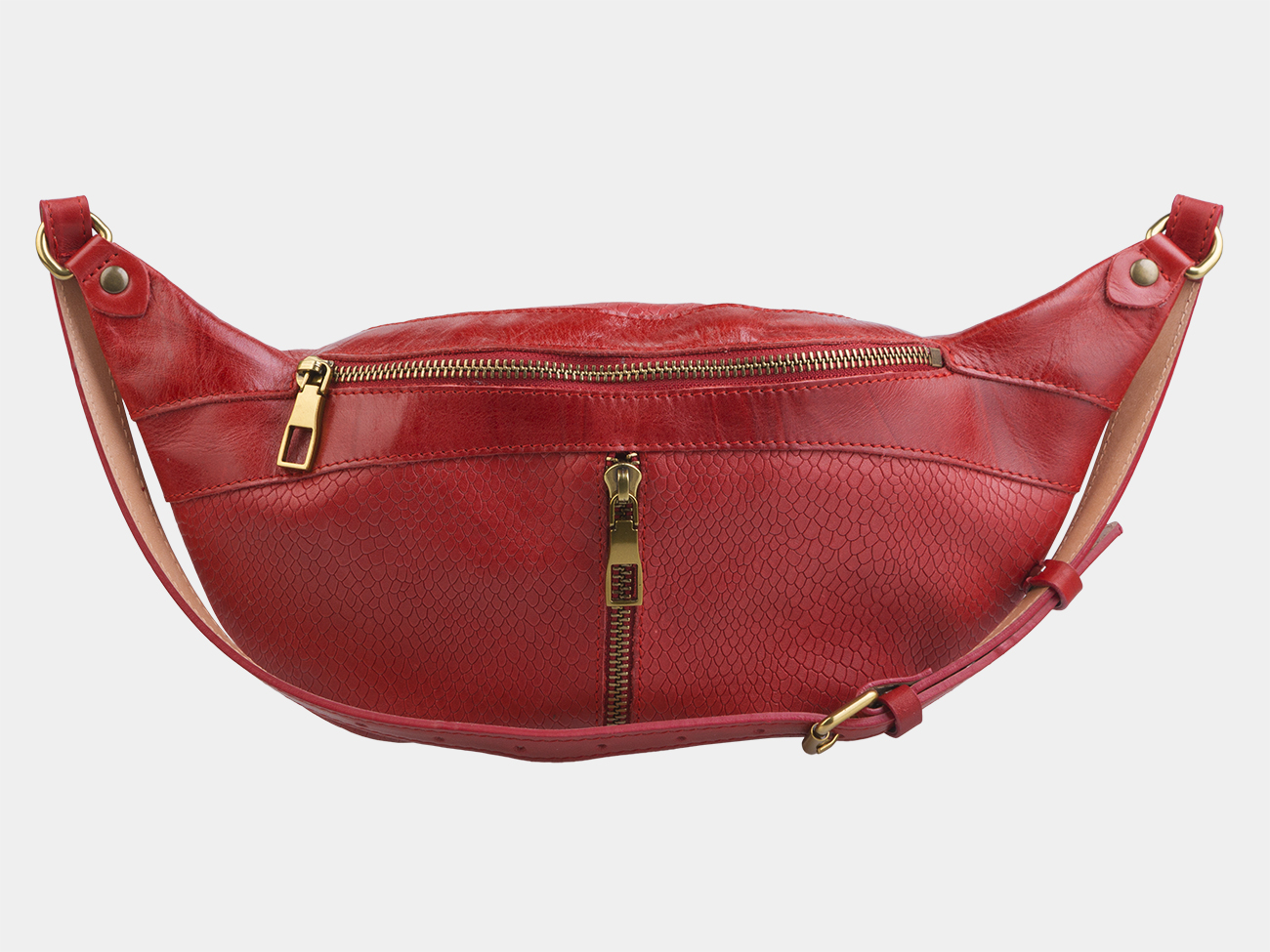 3fcdc2864a91 Купить красную кожаную женскую сумку из натуральной кожи «KB010 Red ...