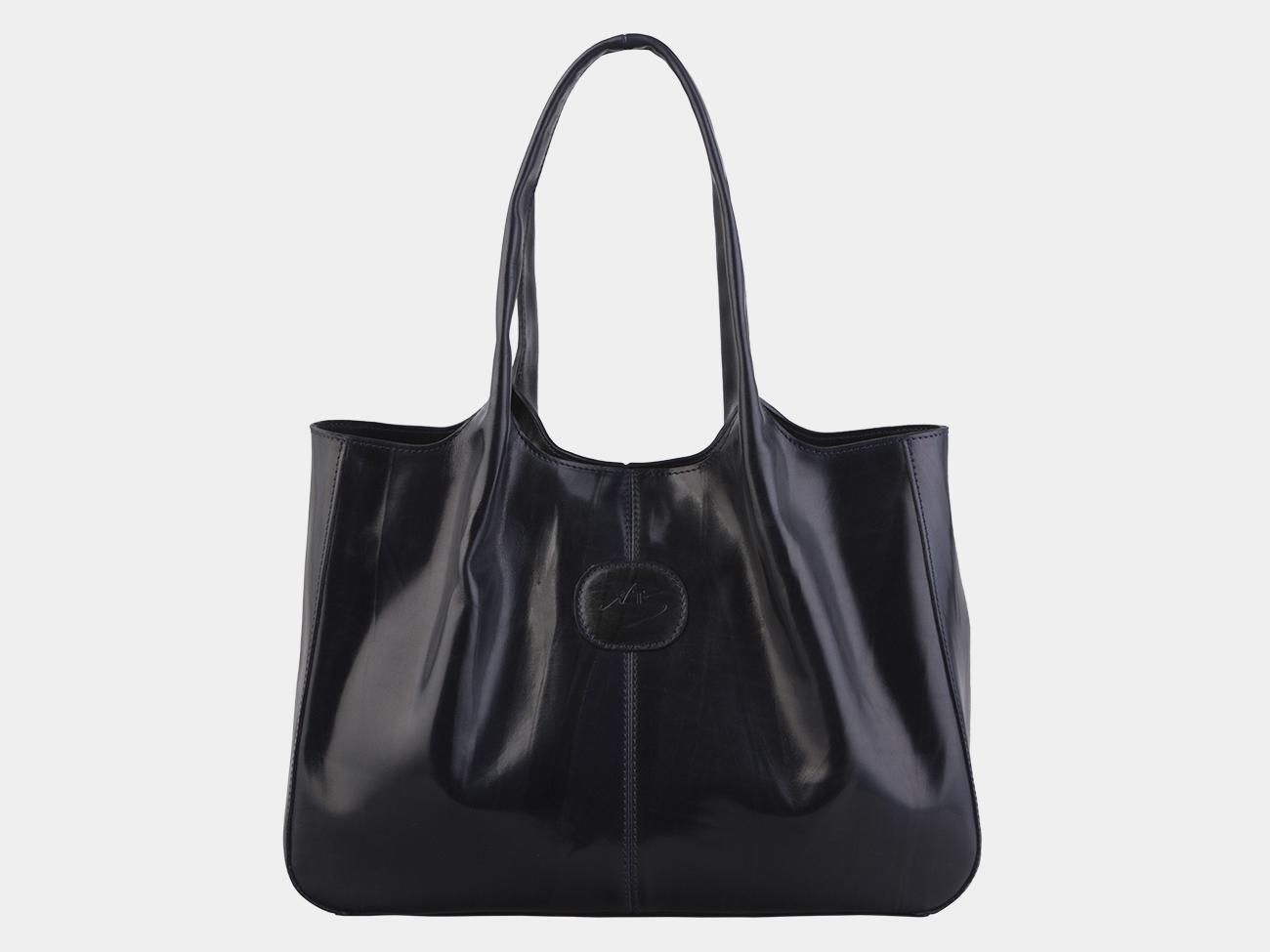 c7b0c780a485 Недорого купить синую кожаную женскую сумку из натуральной кожи ...