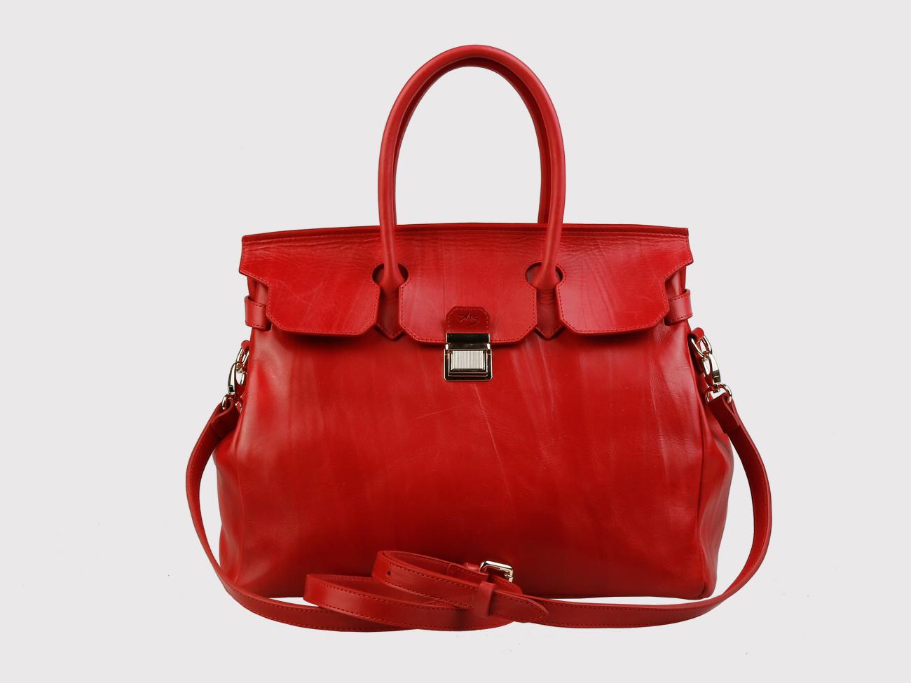 e7d9c9648b76 Недорого купить красную кожаную женскую сумку из натуральной кожи ...